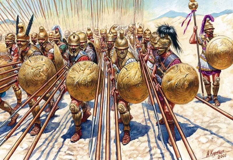 Tài dụng binh kiệt xuất của Alexander Đại đế trong trận Gaugamela