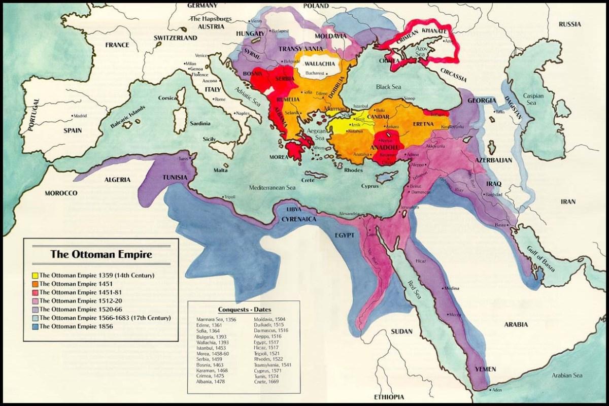 Di sản của Đế chế Ottoman đối với trật tự Trung Đông