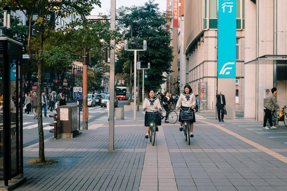 Chùm ảnh: Nhật Bản – xứ sở của những chiếc xe đạp