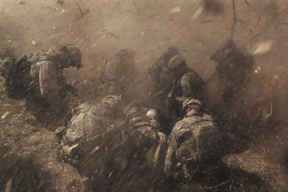 Hình ảnh đắt giá từ cuộc chiến dài nhất lịch sử nước Mỹ