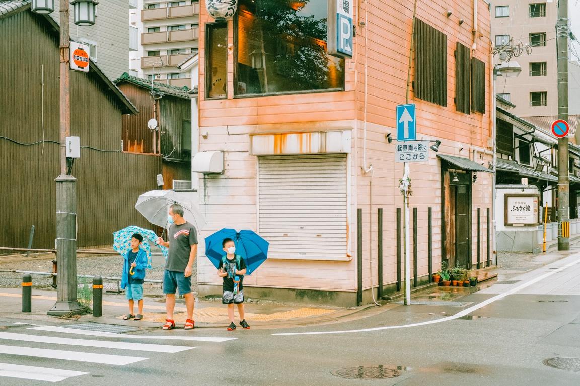 Chùm ảnh: Nét lãng mạn của mùa mưa ở đất nước Nhật Bản