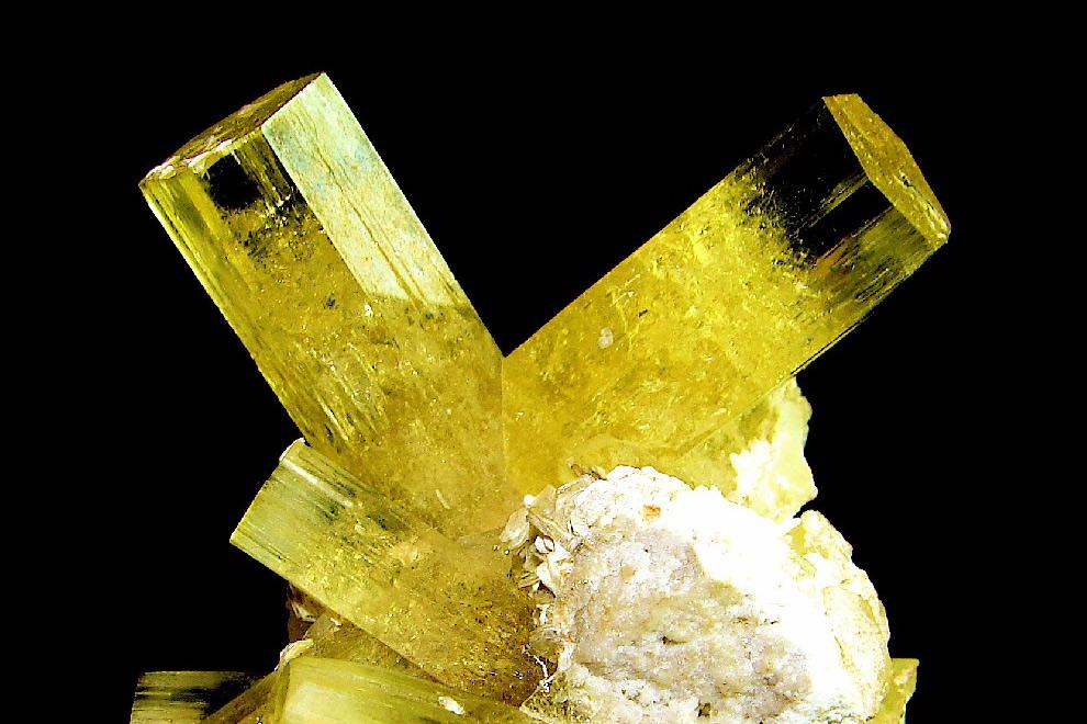 Chùm ảnh: Vẻ đẹp đế vương của các khoáng vật màu vàng