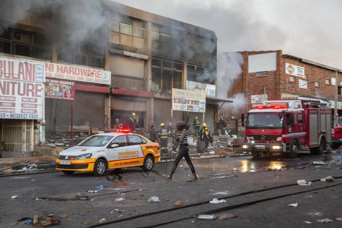 Tình trạng bất ổn của Nam Phi và những thất bại của đảng ANC