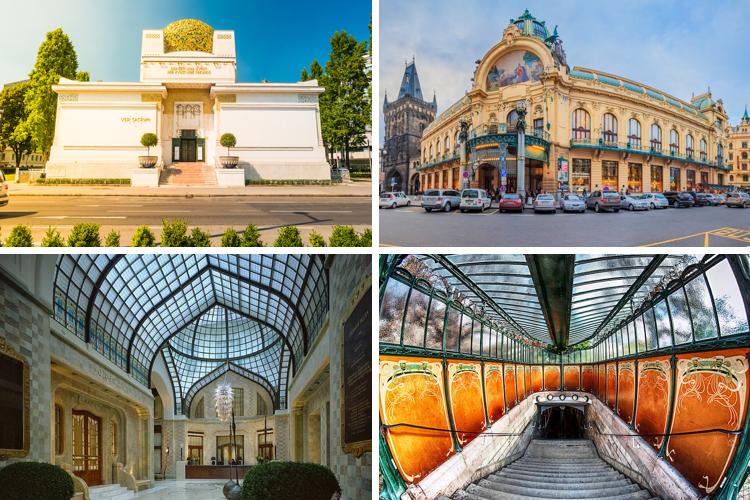 Art Nouveau – trào lưu định hình phong cách kiến trúc đầu thế kỷ 20