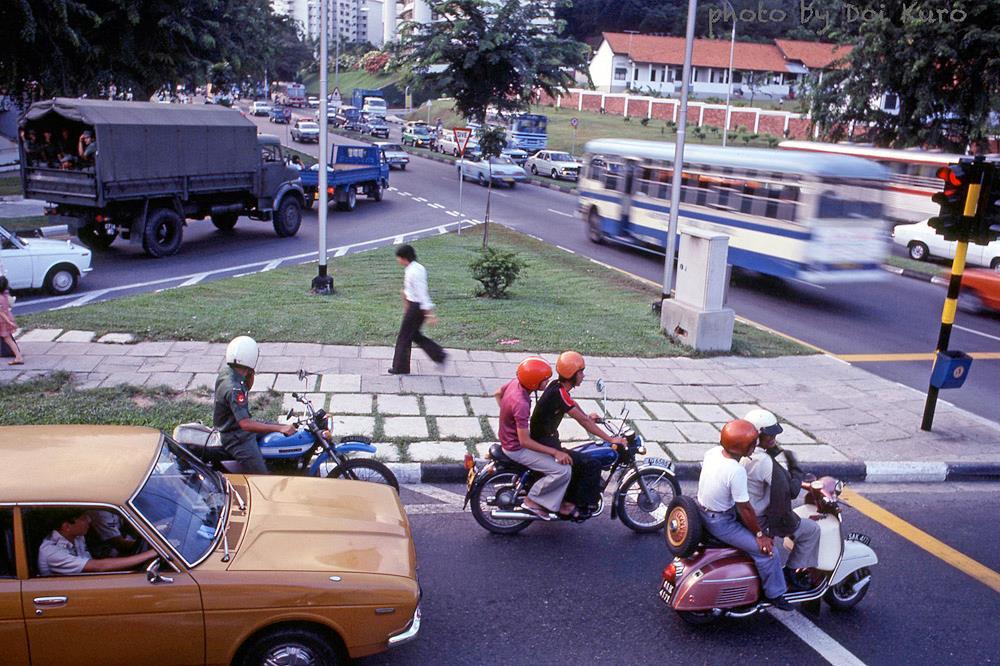 Chùm ảnh: Muôn màu cuộc sống ở đảo quốc Singapore năm 1979