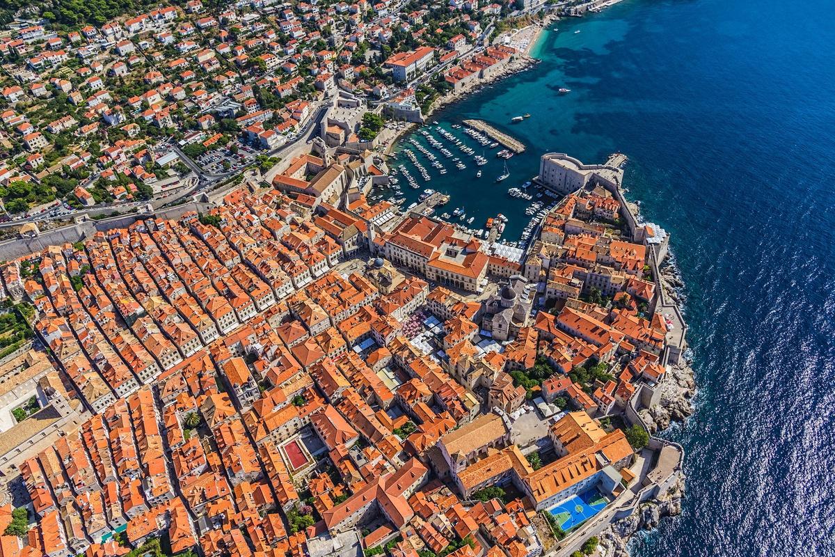 Chùm ảnh: Châu Âu tuyệt đẹp qua góc nhìn từ không trung