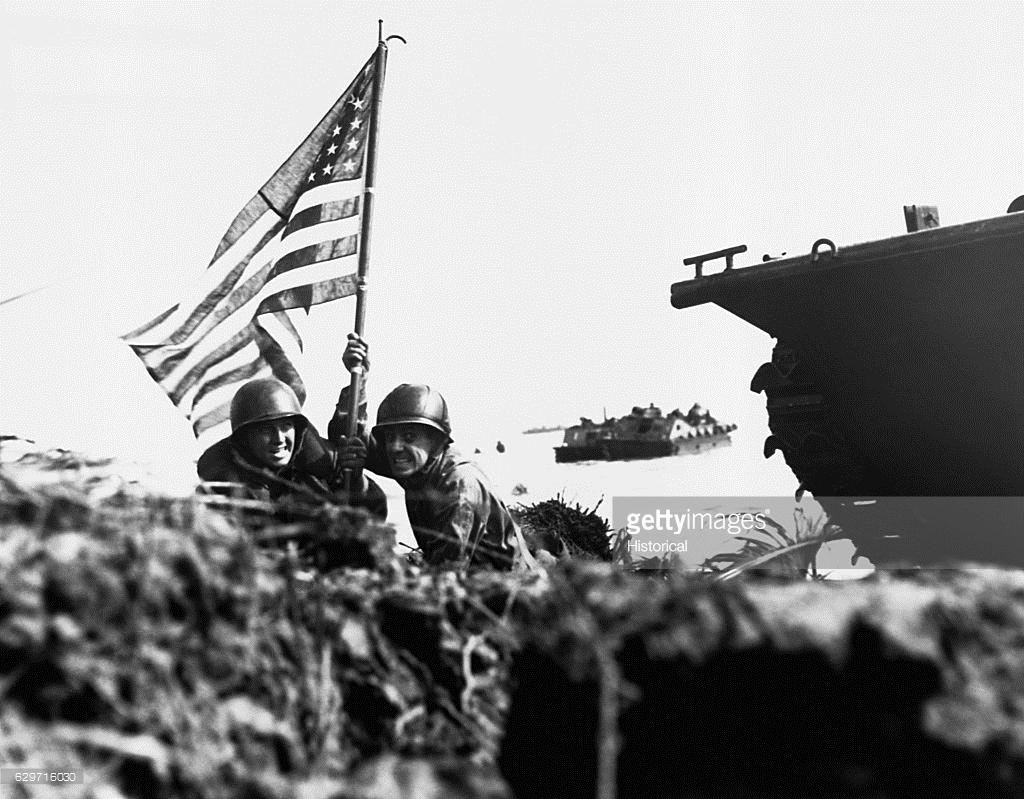 Su tan khoc cua tran chien dao Guam nam 1944 qua anh