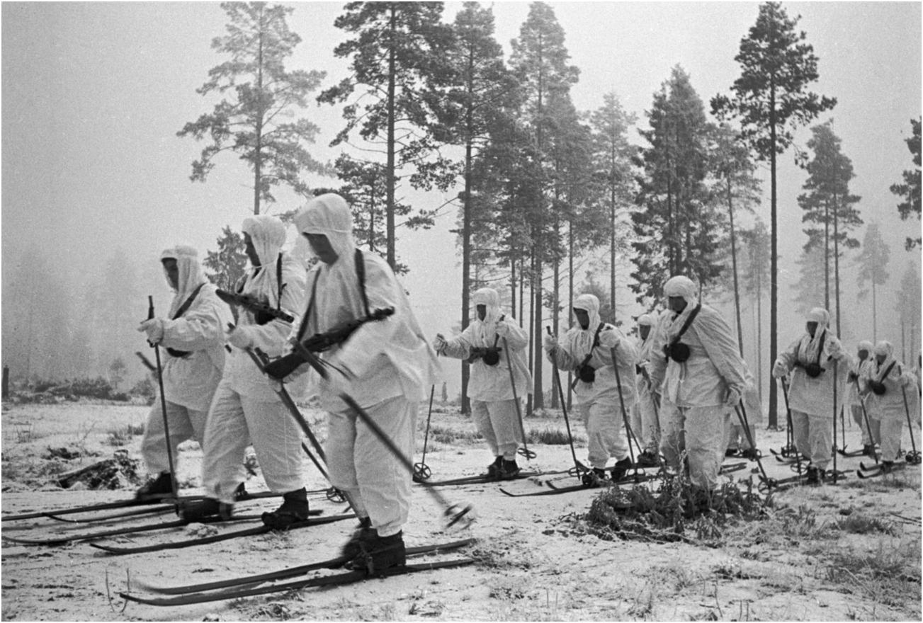 Lính trượt tuyết Hồng quân Liên Xô – ác mộng mùa đông của phát xít Đức