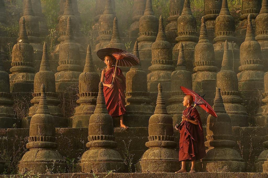 Chùm ảnh: Mrauk U – thiên đường bị lãng quên ở Myanmar
