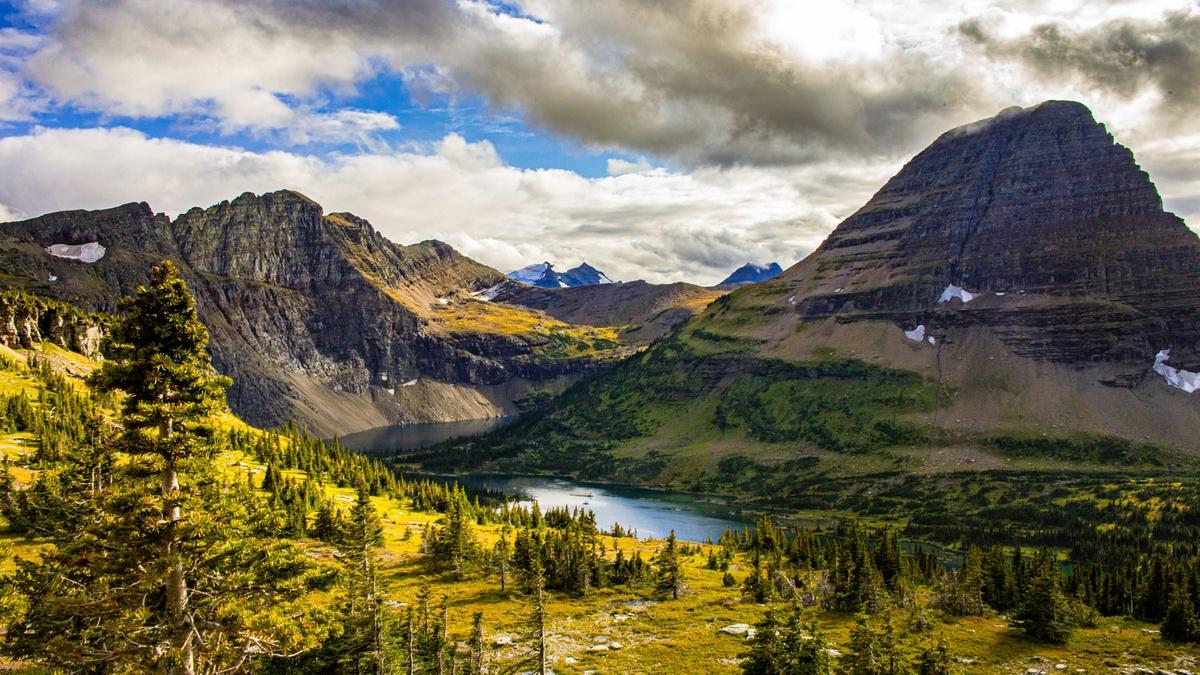Chùm ảnh: Cảnh sắc thần tiên ở vườn quốc gia Glacier của Mỹ