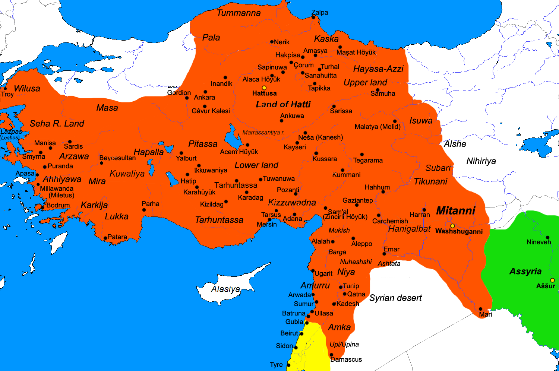 Văn minh Hittite – ánh hào quang bất diệt ở vùng đất Lưỡng Hà