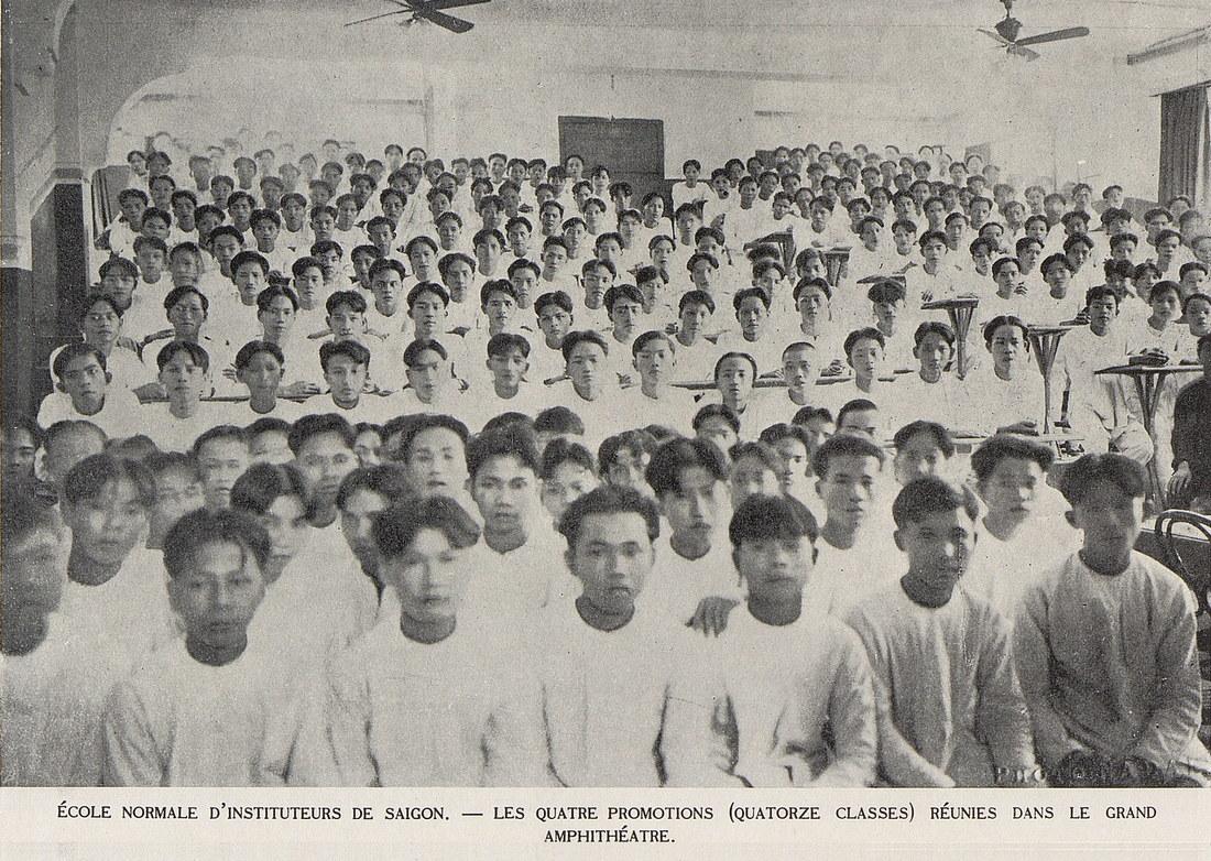 Ảnh tư liệu quý về trường học ở xứ Nam Kỳ một thế kỷ trước