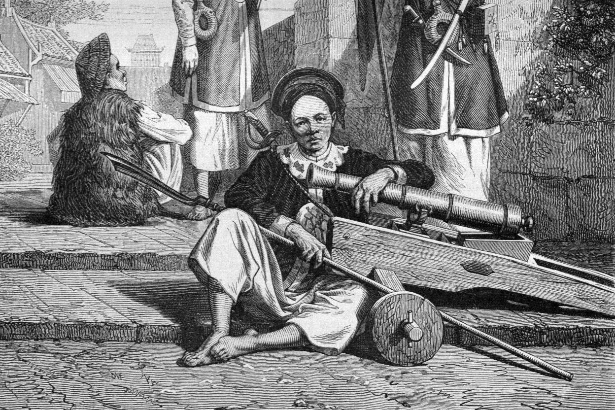 Tài thiện xạ và sức mạnh thủy quân Trịnh-Nguyễn trong mắt người Tây