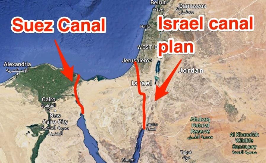 Kênh đào Israel: Giải pháp thay thế cho kênh đào Suez?
