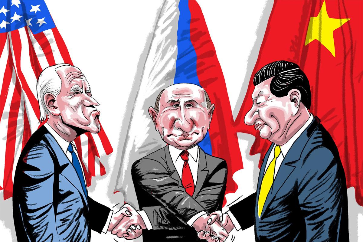 Tam giác chiến lược và tương tác đa chiều trong quan hệ quốc tế