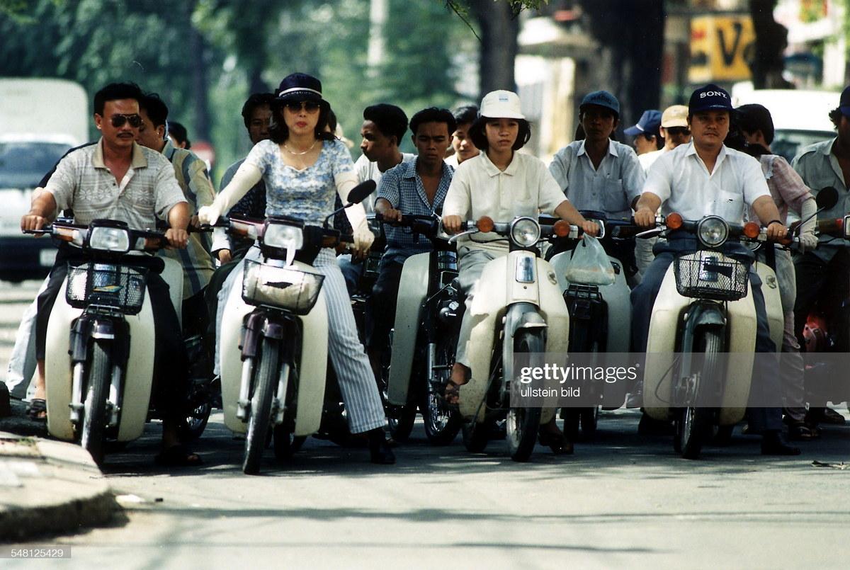 CHùm ảnh: Cuộc sống ở Sài Gòn năm 1996 qua ống kính người Đức
