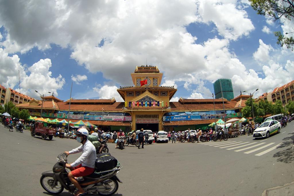 Redsvn Cho Binh Tay 02 - Kiến trúc độc đáo chợ bình tây xưa và nay