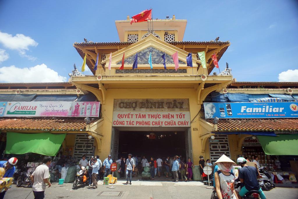 Redsvn Cho Binh Tay 03 - Kiến trúc độc đáo chợ bình tây xưa và nay