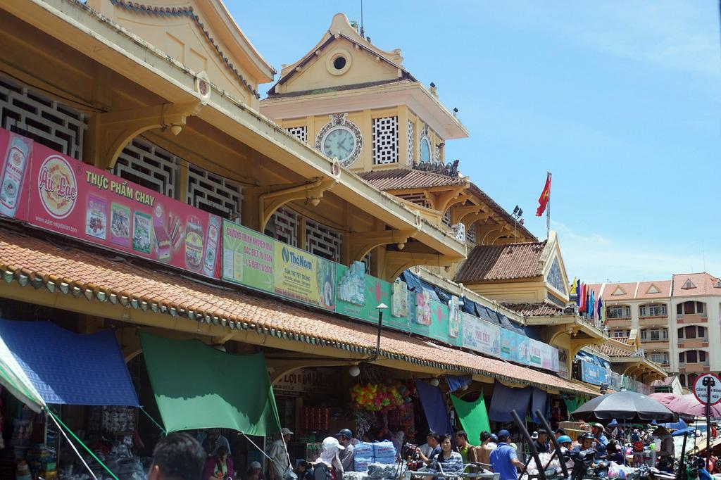 Redsvn Cho Binh Tay 04 - Kiến trúc độc đáo chợ bình tây xưa và nay