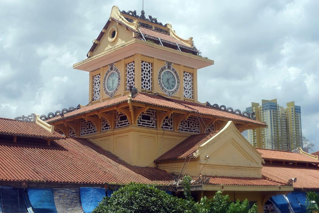 Redsvn Cho Binh Tay 05 - Kiến trúc độc đáo chợ bình tây xưa và nay