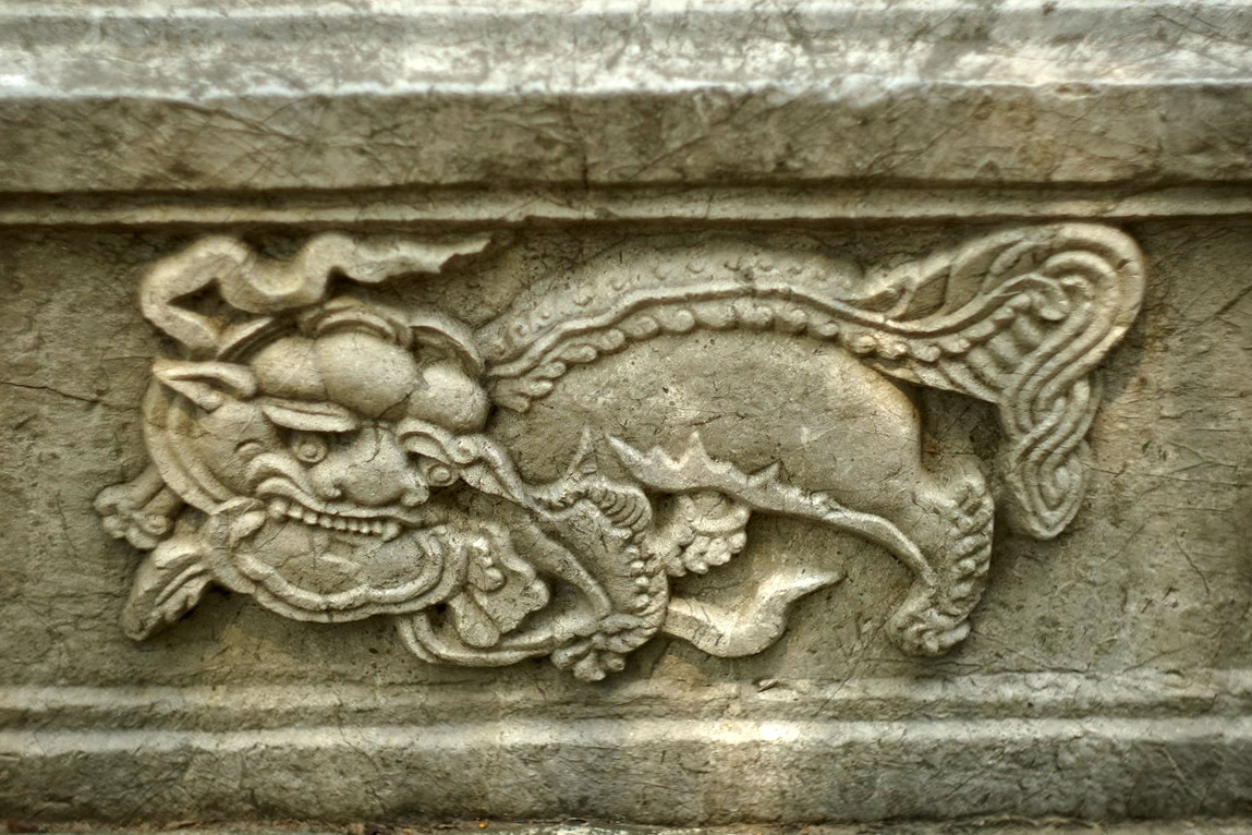 Chùm ảnh: Bia điện Nam Giao – chứng tích về đàn tế của Kinh thành Thăng Long