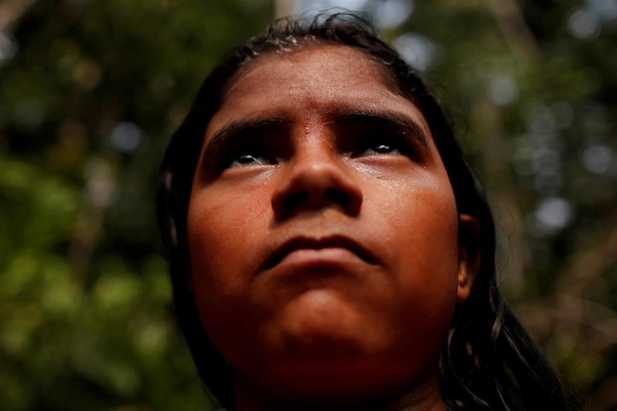 Chùm ảnh: Bộ tộc bản địa quyết bảo vệ rừng Amazon bằng máu của mình