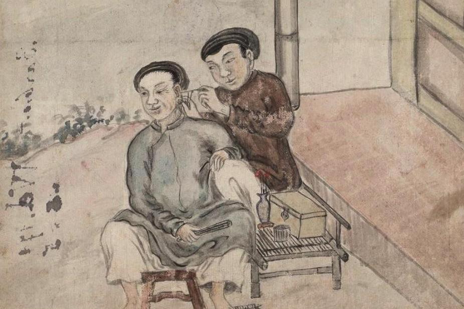 10 bức tranh 'vui nhộn' về đời sống ở Việt Nam một thế kỷ trước